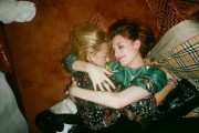 Blake Lively getting cozy with Florence Welch, Webster Hotel October 31, 2011