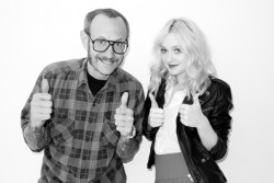 Dakota Fanning (9x) - Photoshoot by Terry Richardson.