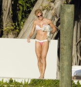 Torrie Wilson Wearing a Bikini in Miami on January 9, 2012