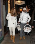 Мэрайя Кэри, фото 6080. Mariah Carey December, 31 2011 Out & about in Aspen, foto 6080