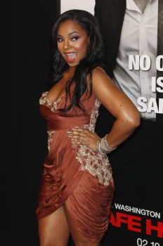 Ashanti @ Safe House Premiere In New York