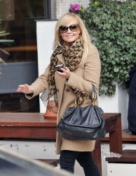 Эмма Бантон, фото 2252. Jan. 23th - London - Emma Bunton Leaving ITV Studios, foto 2252
