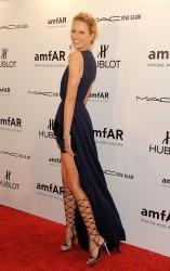 Karolina Kurkova @amFAR gala, NY, 08.02.12 - 7 HQ