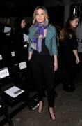 Jennifer Nettles attends the Yigal Azrouel Fall 2012 fashion show on February 10, 2012 in New York City