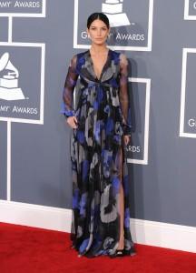 Лили Олдридж, фото 376. Lily Aldridge - 54th annual Grammy Awards, february 12, foto 376