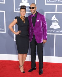 Алиша Киз (Алисия Кис), фото 3049. Alicia Keys 54th annual Grammy Awards - 12/02/2012 - Red Carpet, foto 3049