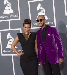 Алиша Киз (Алисия Кис), фото 3036. Alicia Keys 54th annual Grammy Awards - 12/02/2012 - Red Carpet, foto 3036