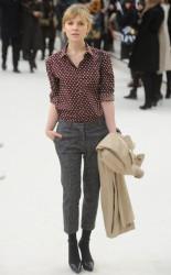Клменс Пози, фото 159. Clmence Posy Arrives at the Burberry Autumn Winter 2012 Womenswear Show during London Fashion Week - 20.02.2012, foto 159