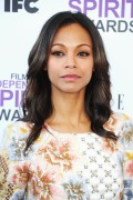Зои Салдана, фото 2386. Zoe Saldana 2012 Film Independent Spirit Awards in Santa Monica - February 25, 2012, foto 2386
