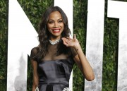 Зои Салдана, фото 2399. Zoe Saldana 2012 Vanity Fair Oscar Party - February 26, 2012, foto 2399