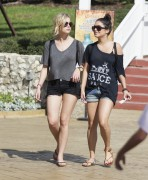 Эшли Бенсон, фото 386. Ashley Benson at Busch Gardens in Tampa Bay 03/03/12*with Vanessa Hudgens, foto 386,