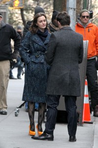 Лейгтон Мистер, фото 6887. Leighton Meester On the Set of 'Gossip Girl' in Manhattan - 05.03.2012, foto 6887