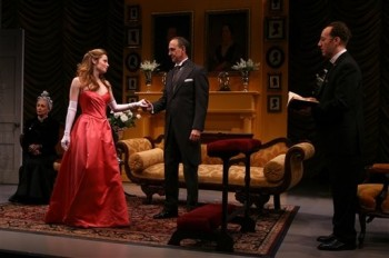 "Jaime Ray Newman - playing in ""The New York Idea"" at the Lucille Lortel Theatre 