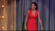 Angie Harmon - slit dress @JimmyFallon 6-4-12