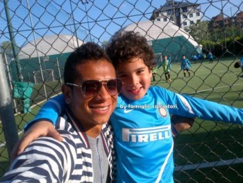 Photo of Fredy Guarín & his  Son  Daniel Guarín