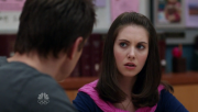 Alison Brie busty on Community S01E09 720p