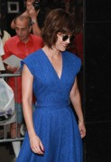 Lizzy Caplan - at Good Morning America in New York 08/05/12